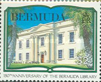[The 150th Anniversary of Bermuda Library, Typ QG]