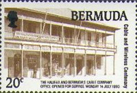 [The 100th Anniversary of Cable and Wireless in Bermuda, Typ QX]