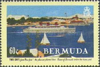 [The 75th Anniversary of Furness Line's Bermuda Cruises - Adolphe Treidler Posters, Typ TE]