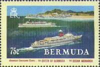 [The 75th Anniversary of Furness Line's Bermuda Cruises - Adolphe Treidler Posters, Typ TF]