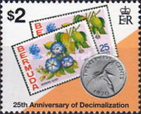 [The 25th Anniversary of Decimal Currency, Typ UH]