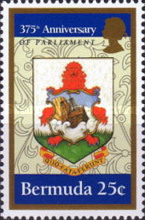 [The 375th Anniversary of Bermuda Parliament, Typ US]