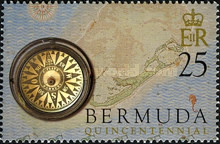[The 500th Anniversary of Discovery of Bermuda by Juan de Bermudez (Spanish Navigator), Typ XCD]