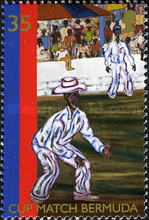 [The 100th Anniversary of Bermuda Cup Cricket Match, Typ ZW]