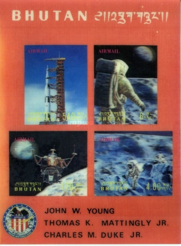 [Airmail - Space Flight of Apollo 16, Typ ]