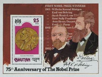 [The 75th Anniversary of Nobel Prizes, Typ ]