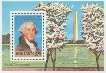 [The 250th Anniversary of the Birth of George Washington, 1732-1799 and the 100th Anniversary of the Birth of Franklin D. Roosevelt, 1732-1799, Typ ]