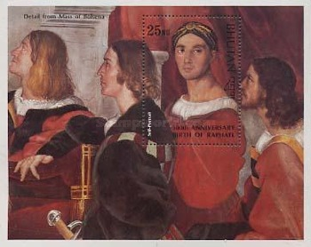 [The 500th Anniversary of the Birth of Raphael, Artist, 1438-1520, Typ ]