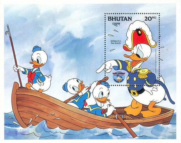 [The 50th Anniversary of Walt Disney Character Donald Duck, Typ ]