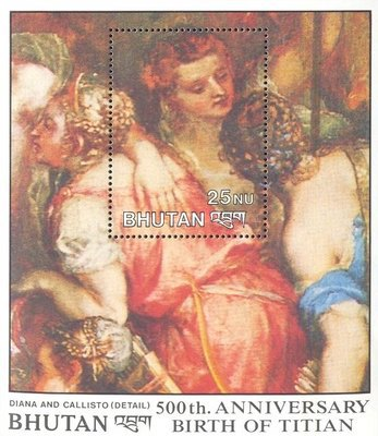 [The 500th Anniversary of the Birth of Titian, Painter, 1488-1576, Typ ]