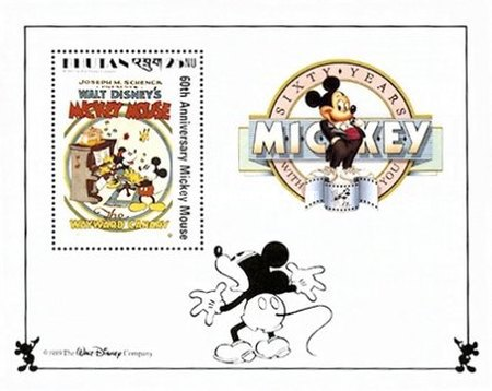 [The 60th Anniversary of Mickey Mouse - Film Posters, Typ ]