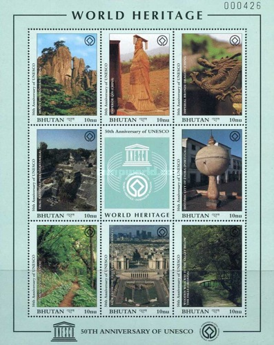 [The 50th Anniversary of UNESCO World Heritage Sites, Typ ]