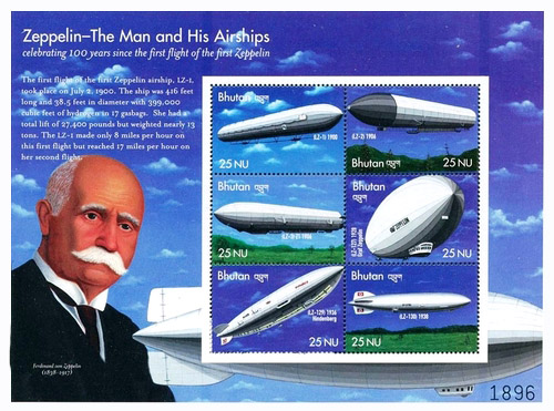 [The 100th Anniversary of the First Zeppelin flight, type ]