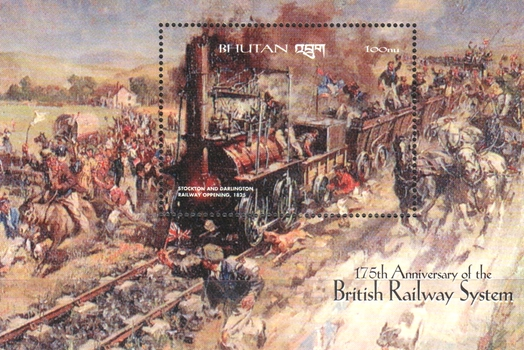[The 175th Anniversary of Opening of Stockton and Darlington Railway, Typ ]