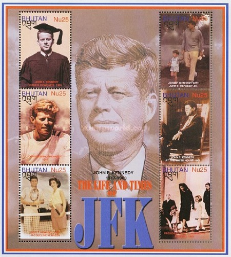 [The 85th Anniversary of the Birth of John Fitzgerald Kennedy, President USA 1961-1963, 1917-1963, Typ ]