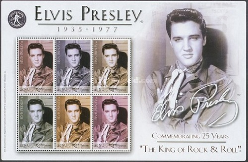 [The 25th Anniversary of the Death of Elvis Presley, Entertainer, 1935-1977, Typ ]