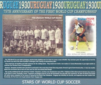 [The 75th Anniversary of Football World Cup, Typ ]