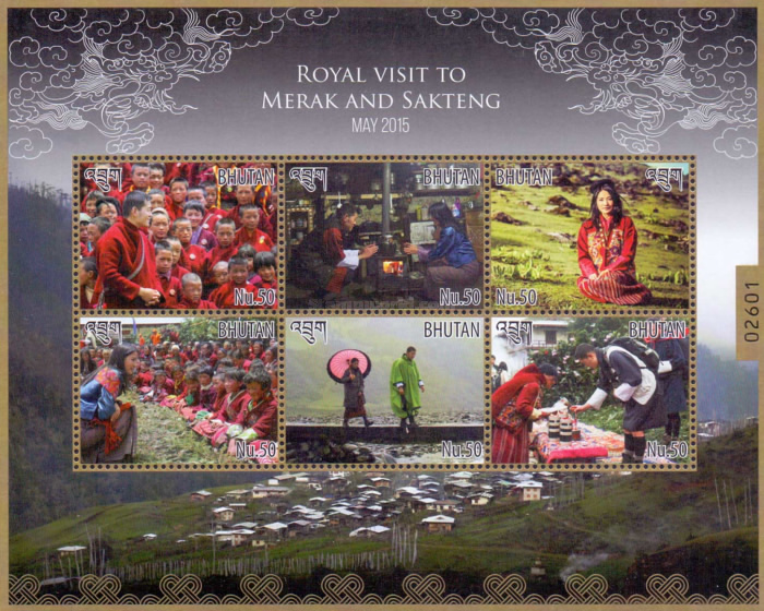 [Royal Visit to Merat and Sakteng, Typ ]