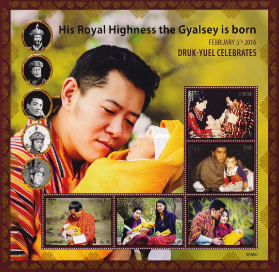 [Royal Baby -  His Royal Highness the Gyalsey, Typ ]