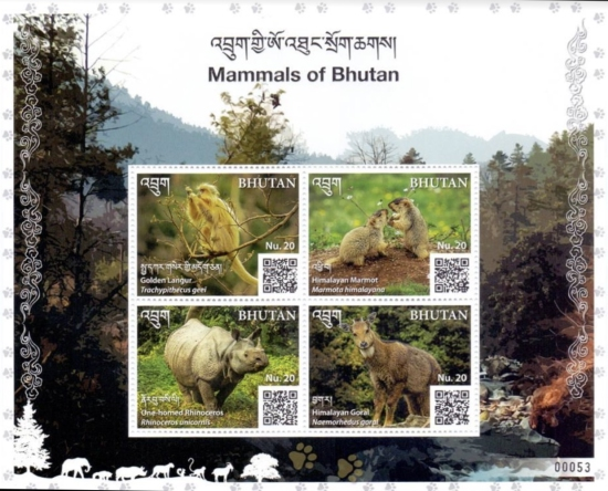 [Mammals of Bhutan, type ]