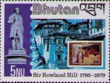 [The 100th Anniversary of the Death of Sir Rowland Hill, 1795-1879, type ABJ]