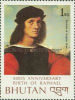 [The 500th Anniversary of the Birth of Raphael, Artist, 1483-1520, Typ ADX]