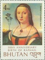 [The 500th Anniversary of the Birth of Raphael, Artist, 1483-1520, Typ ADY]