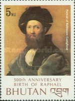 [The 500th Anniversary of the Birth of Raphael, Artist, 1483-1520, Typ ADZ]