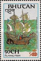 [The 500th Anniversary of Discovery of America by Columbus, Typ ALU]