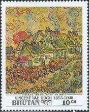 [The 100th Anniversary of the Death of Vincent van Gogh, Painter, 1853-1890, Typ BBT]