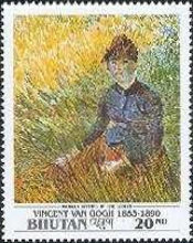 [The 100th Anniversary of the Death of Vincent van Gogh, Painter, 1853-1890, Typ BCC]