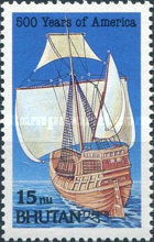 [The 500th Anniversary of Discovery of America by Columbus, type BDF]
