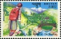 [The 30th Anniversary of Bhutan Postal Organization, type BDL]