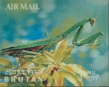 [Airmail - Insects, Typ JE]