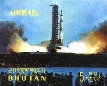 [Airmail - First Manned Moon Landing by Apollo 11, Typ LC]