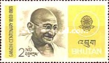 [The 100th Anniversary of the Birth of Mahatma Gandhi, 1869-1948, type LE1]
