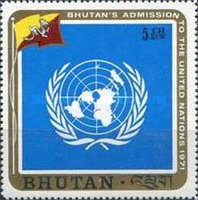 [Inclusion of Bhutan in the United Nations, Typ QW]