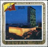 [Inclusion of Bhutan in the United Nations, Typ QX]
