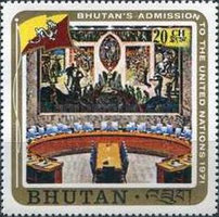 [Inclusion of Bhutan in the United Nations, Typ QY]
