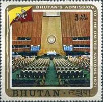 [Inclusion of Bhutan in the United Nations, Typ QZ]