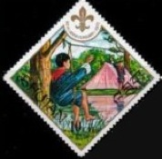 [The 60th Anniversary of Boy Scout Movement, Typ RD]