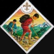 [The 60th Anniversary of Boy Scout Movement, Typ RE]