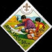 [The 60th Anniversary of Boy Scout Movement, Typ RF]