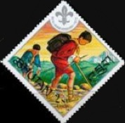 [The 60th Anniversary of Boy Scout Movement, Typ RG]