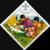 [The 60th Anniversary of Boy Scout Movement, Typ RH]