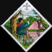 [The 60th Anniversary of Boy Scout Movement, Typ RI]