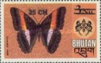 [Stamps of 1967-1975 Surcharged, Typ WF1]