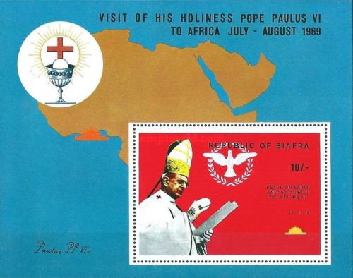 [First Visit of Pope to Africa, type ]