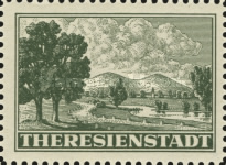 [Fee Stamp for Packets to Theresienstadt Concentration Camp, Typ A]