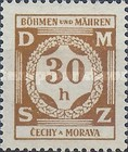 [Governemnt Service Stamps, Typ A]